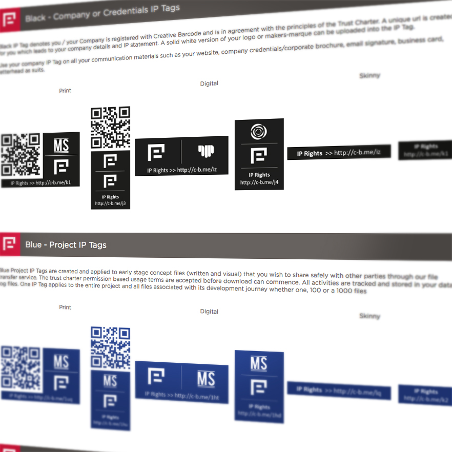 Creative Barcode website