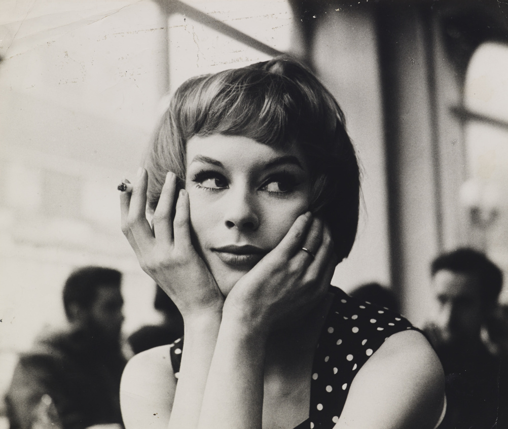John Deakin, Girl in Cafe´, late 1950s