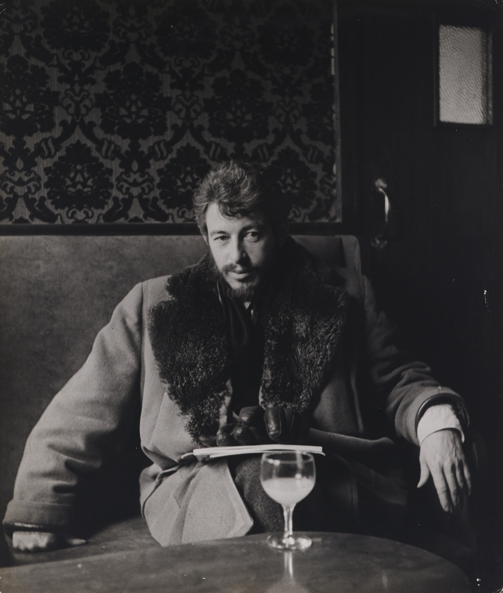 John Deakin, J.P. Donleavy, author and playwright, Soho, 1950s