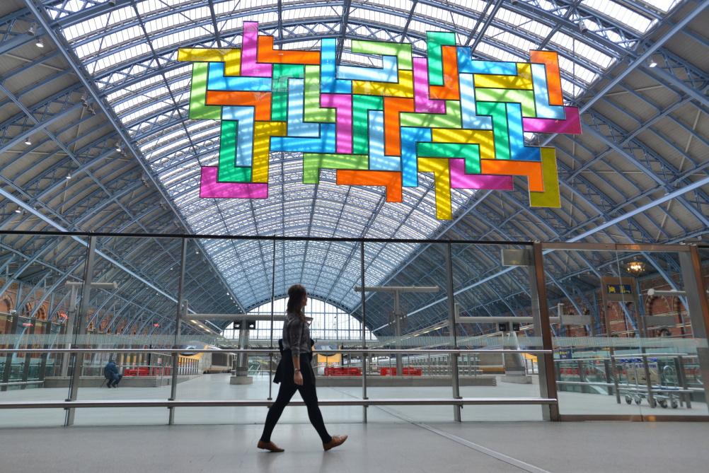 Chromolocomotion, Terrace Wires art programme at St Pancras International