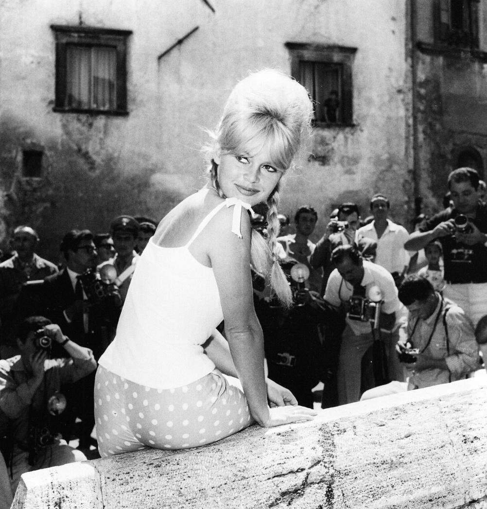 Marcello Geppetti (1933-1998) Brigitte Bardot in Spoleto, June 1961