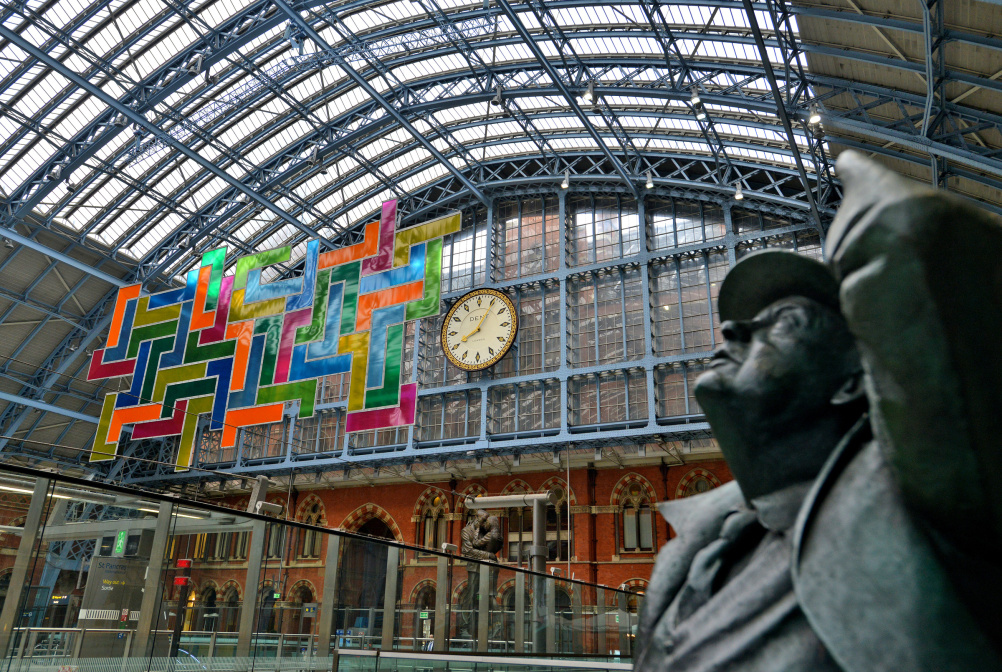 Chromolocomotion, Terrace Wires art programme at St Pancras International