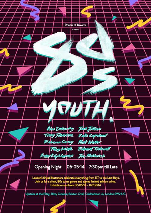 80s Youth poster