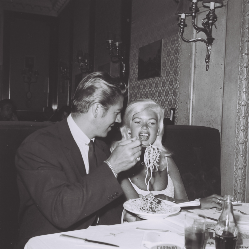 Marcello Geppetti (1933-1998) Jane Mansfield and Mike Hargitay, Rome, September 1960