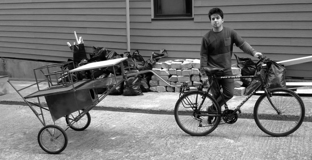 Alexander Sarafian and his contraption