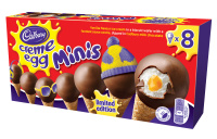 Creme Egg Mini Cones