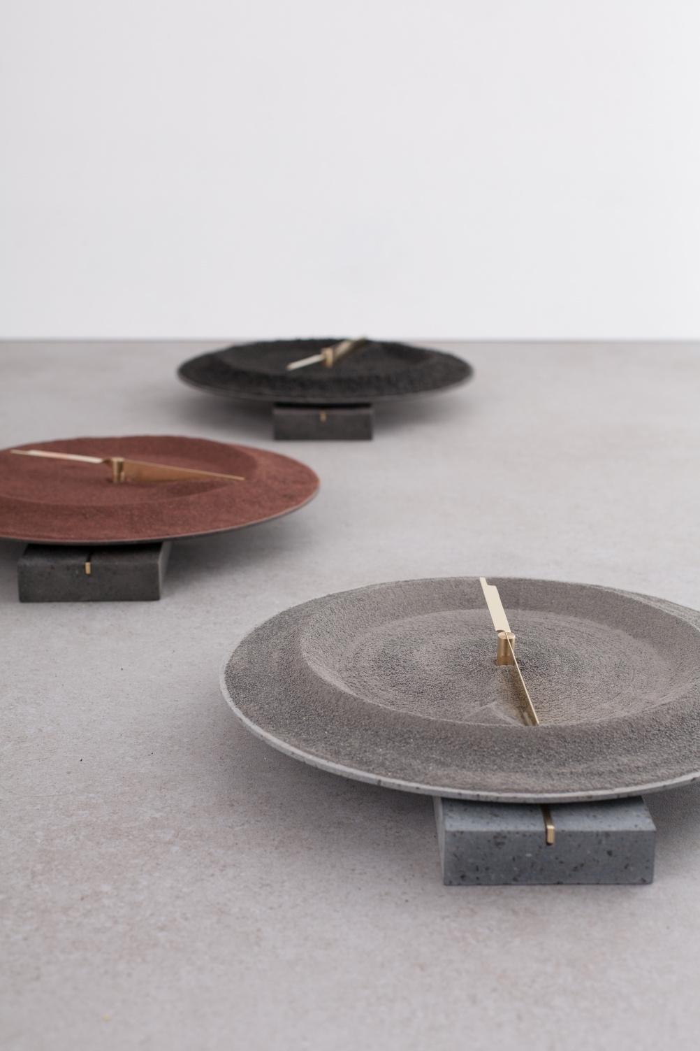 Clock, De Natura Fossilium by Formafantasma, 2014