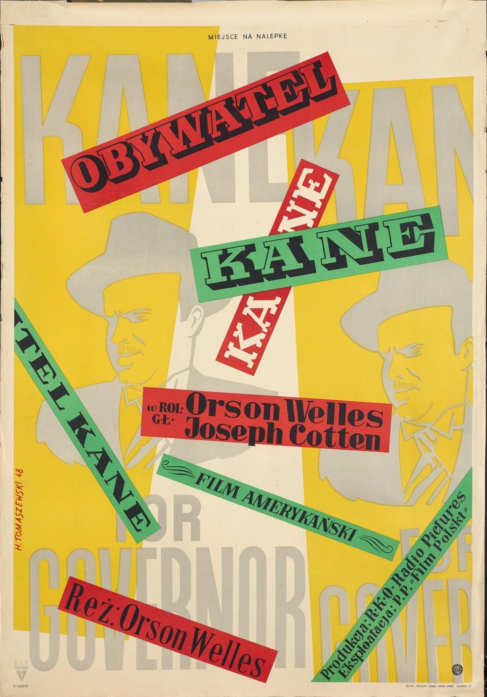 Henryk Tomaszewski, Citizen Kane.