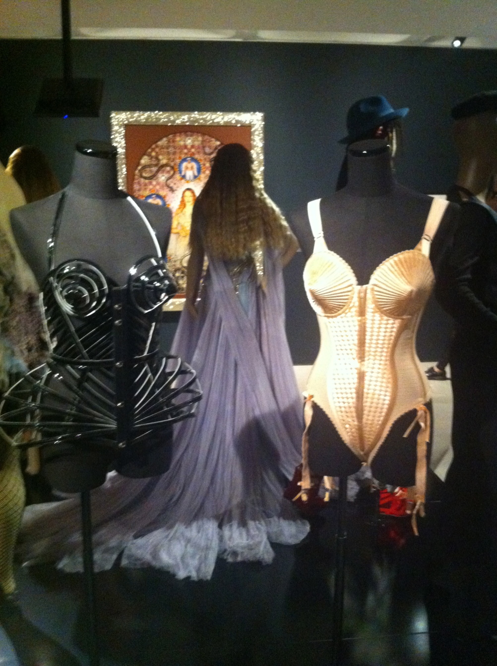 Corsetry including Madonna's 1990 Blond Ambition World Tour stage outfit