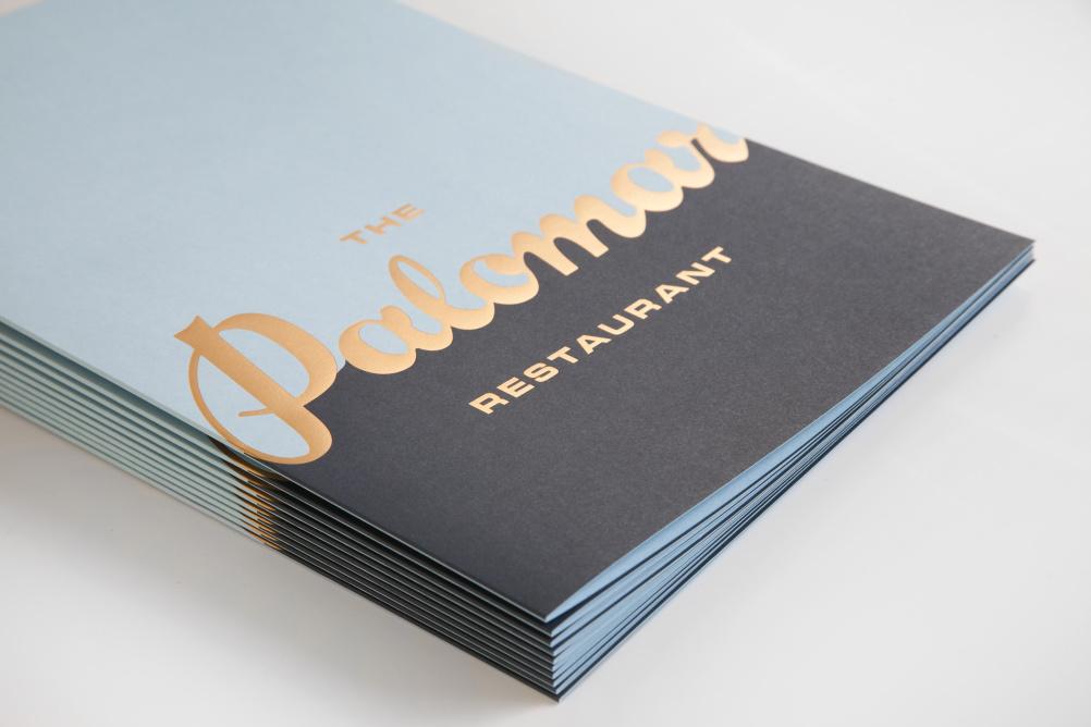 Palomar menus