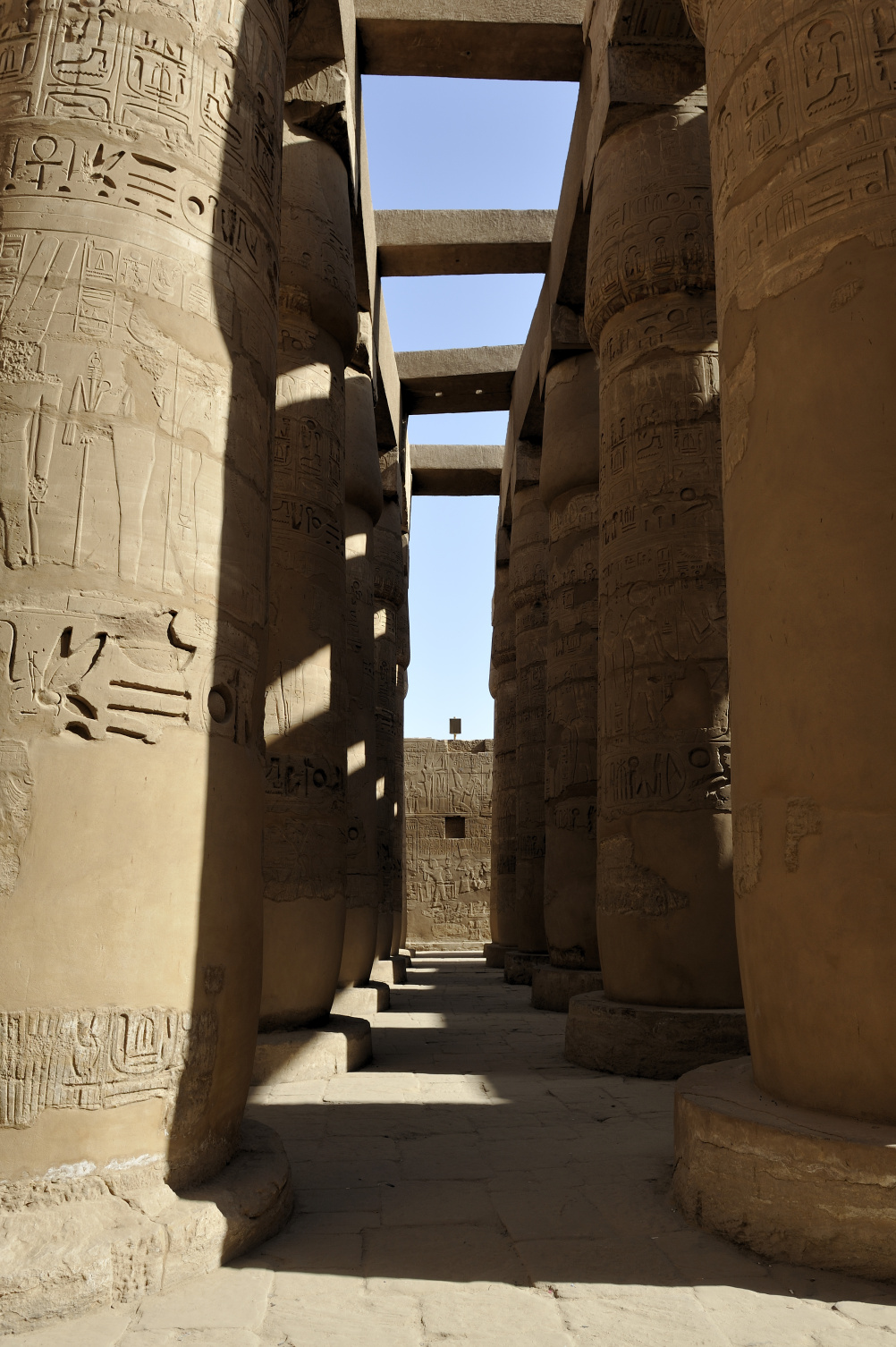 The temple of Amun-Re at Karnak, where Tayesmutengebtiu, also called Tamut, probably served as a priestess.