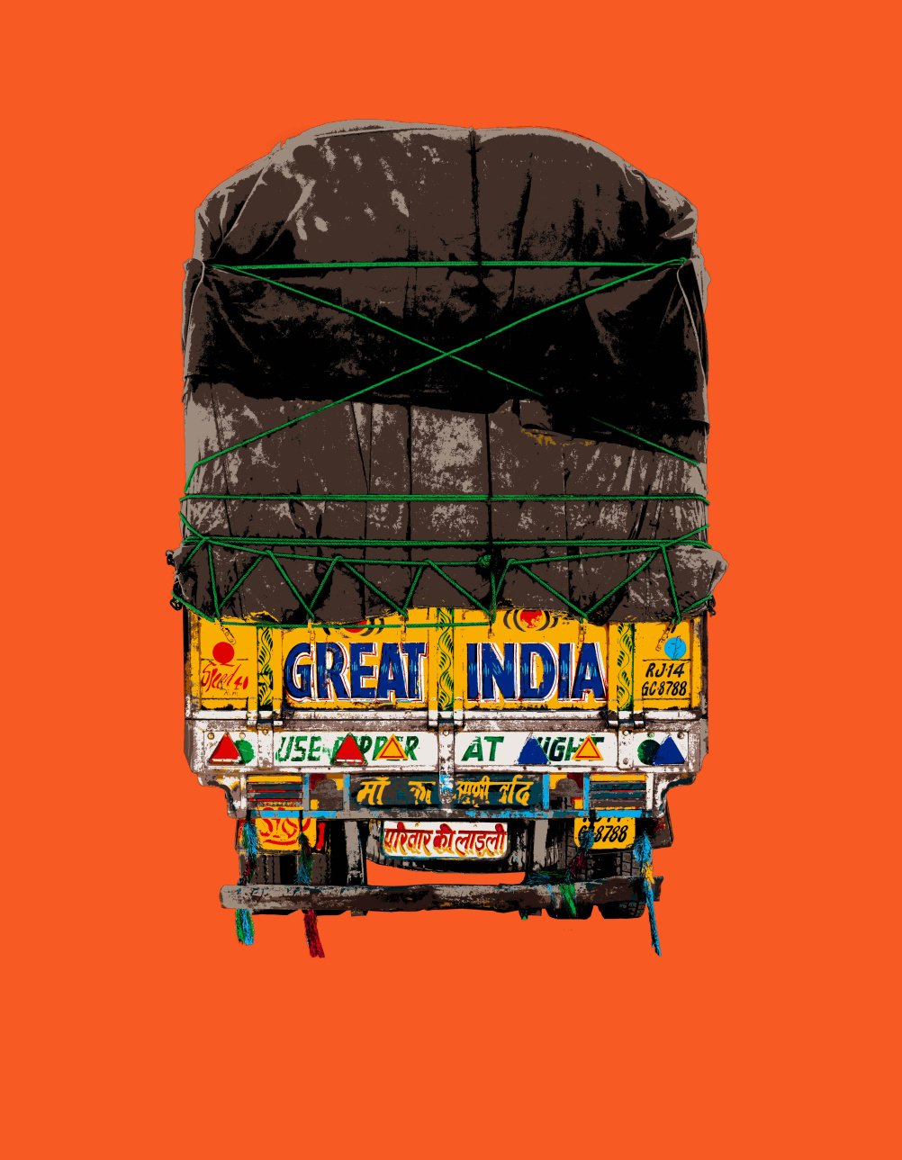 Natasha Kumar print, Great India