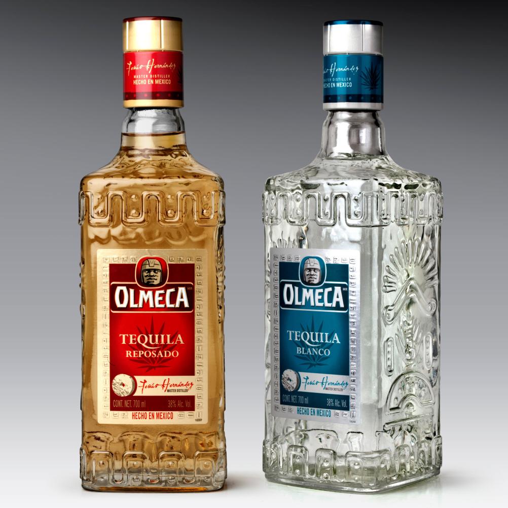 New Olmeca bottles