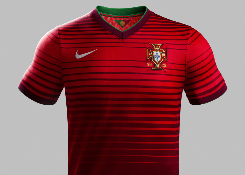 Portugal home shirt