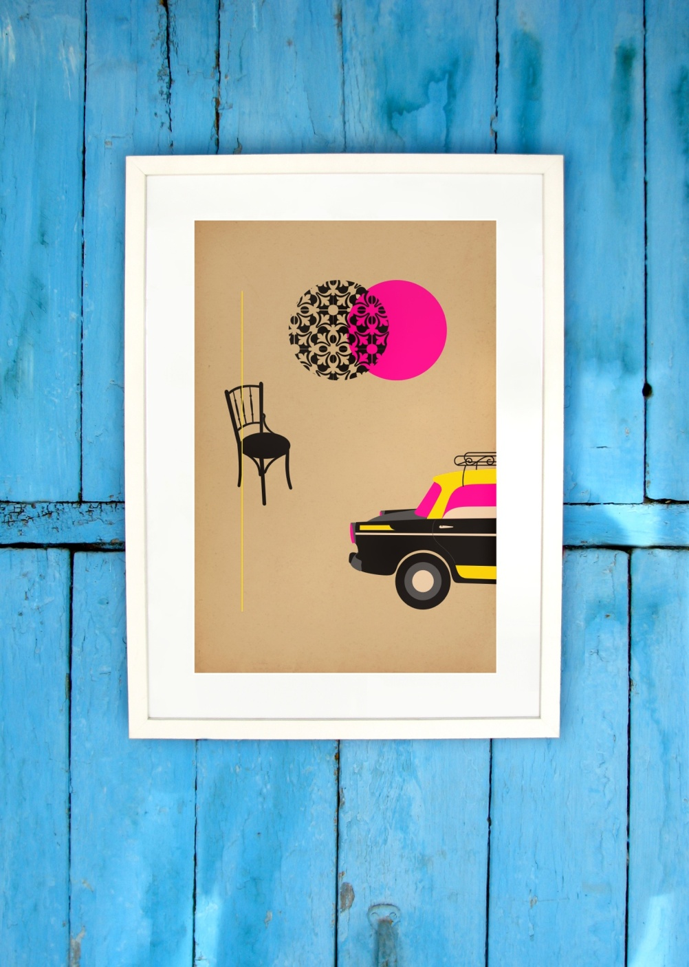 South Mumbai Print by LOCOPOPO design Studio.