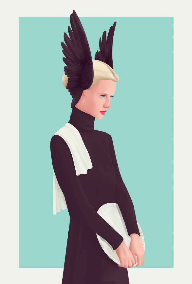 Scandinavian Barmaid by Jack Hughes