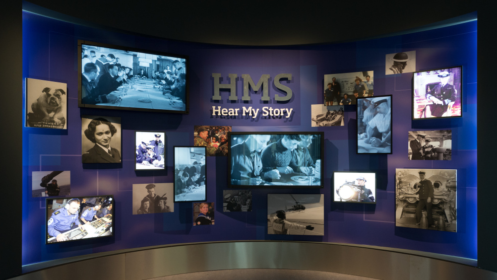 HMS Hear My Story - entrance