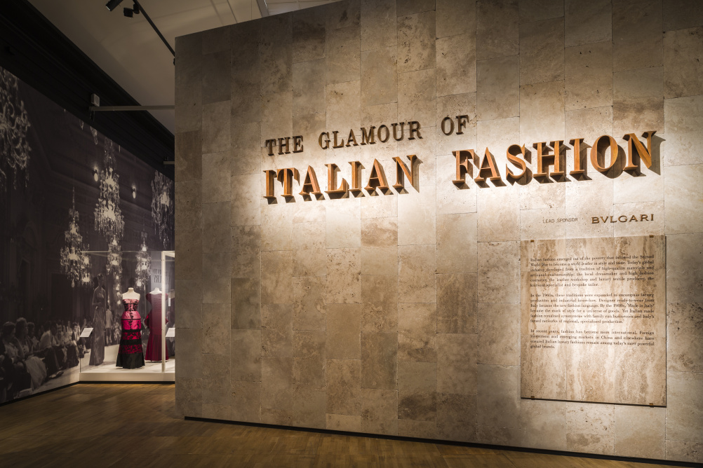 The Glamour of Italian Fashion 1945-2014