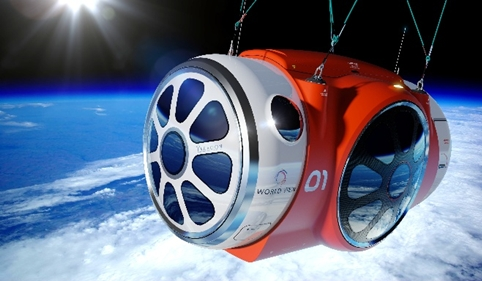 The World View Space Capsule concept, by Priestmangoode