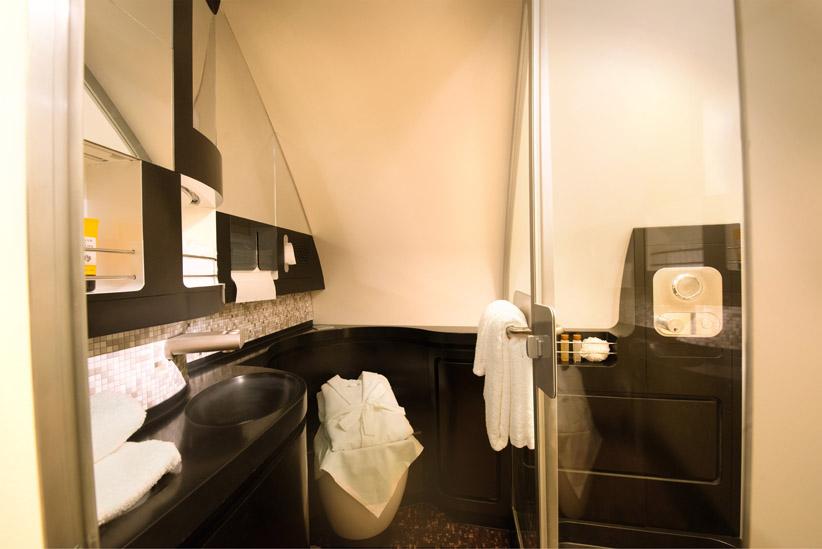 The VIP bathroom
