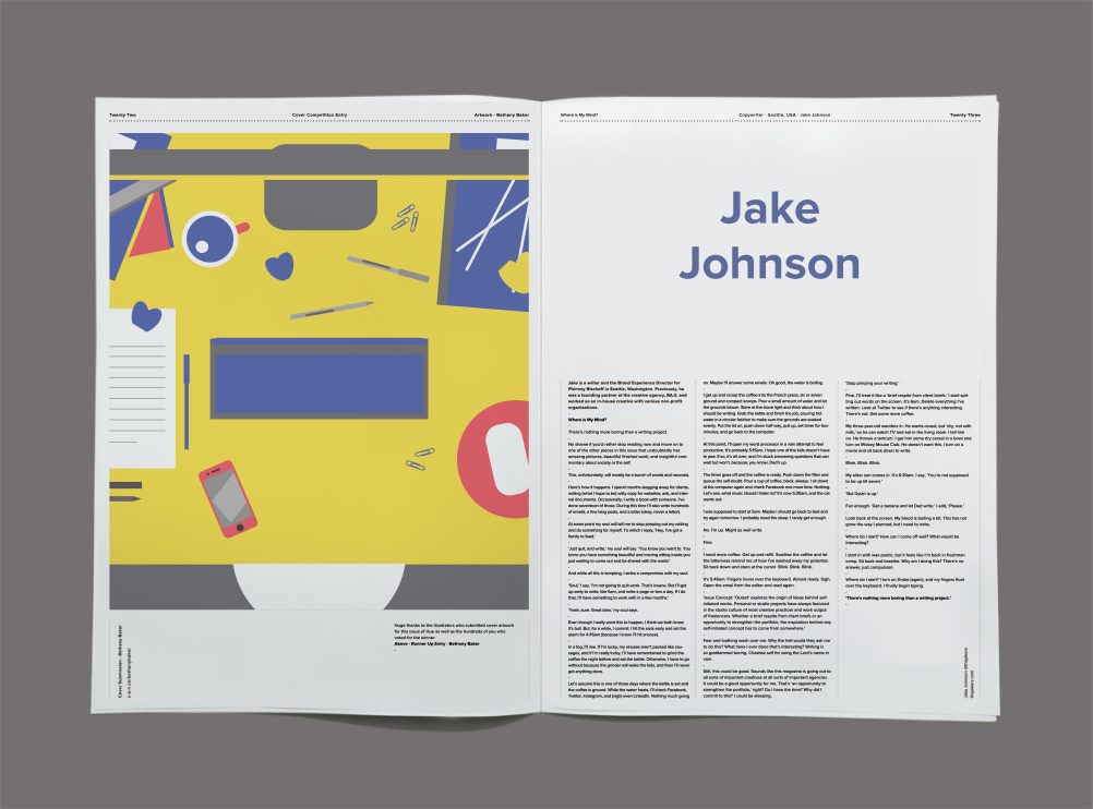 Jake Johnson, copywriter, Seattle, US,