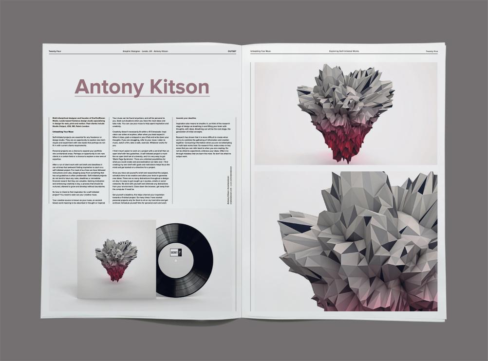 Antony Kitson, graphic designer, Leeds