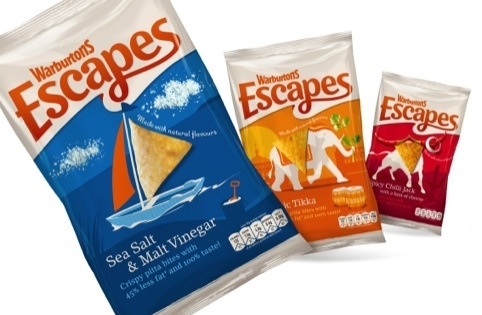 Warburtons has diversified its product ranges. Warburton's Escapes were designed by Family and Friends