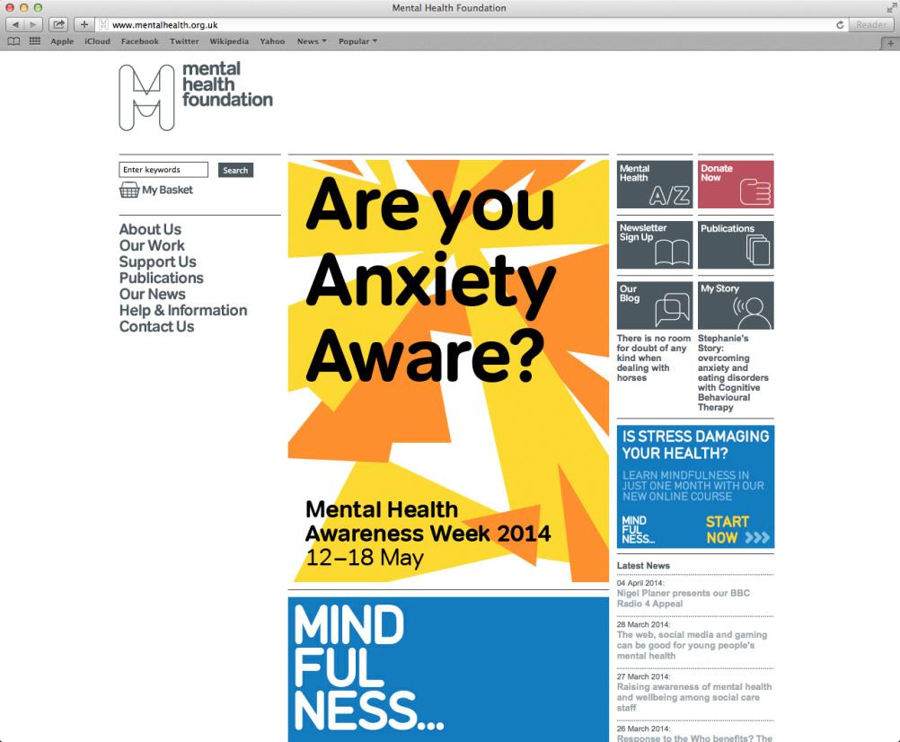 Anxiety Awareness Week website