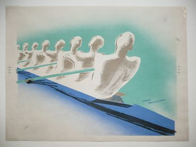 Boat Race by Percy Brookshaw