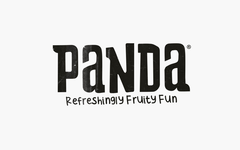 Panda word mark and strapline