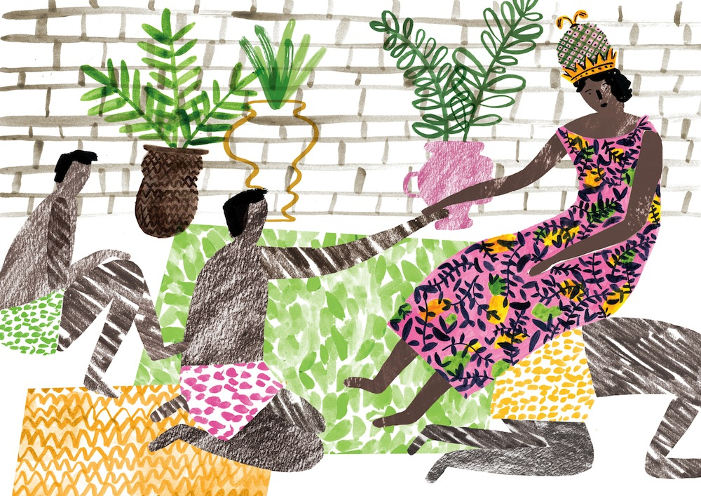 Queen Njinga Mbande by Charlotte Trounce.