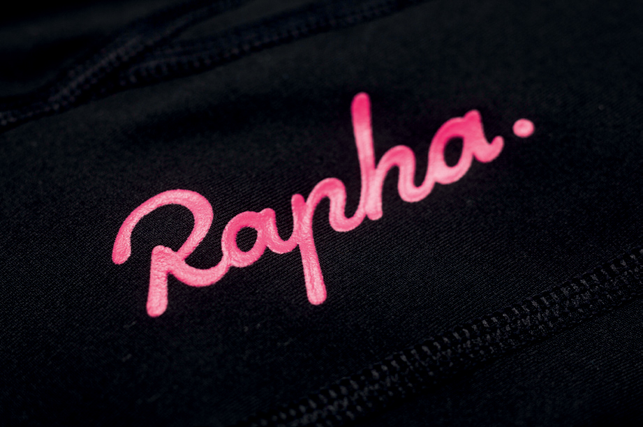 The Rapha identity, designed by Luke Scheybeler and Nick Cooke