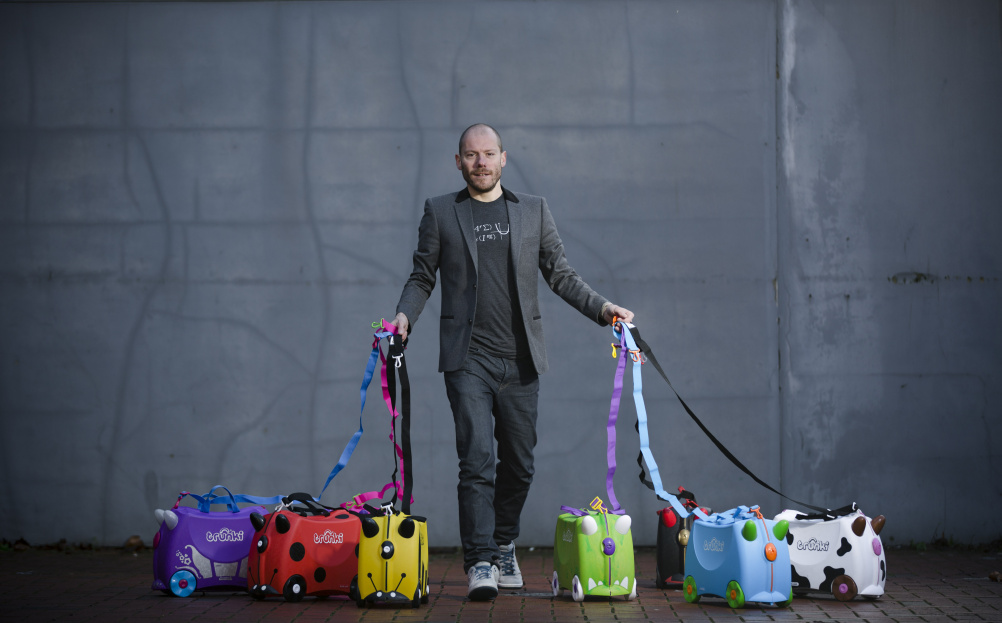 Trunki inventor Rob Law