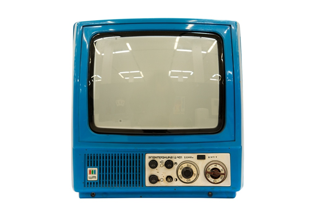 'Elektronika TS-401 M' Television, produced since 1984