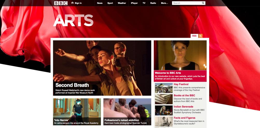 BBC Arts Online