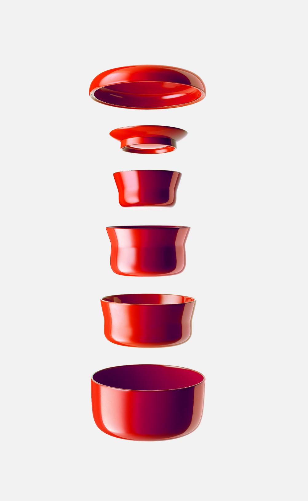 Wajima lacquerware, 1986, Kita Toshiyuki; lacquered wood