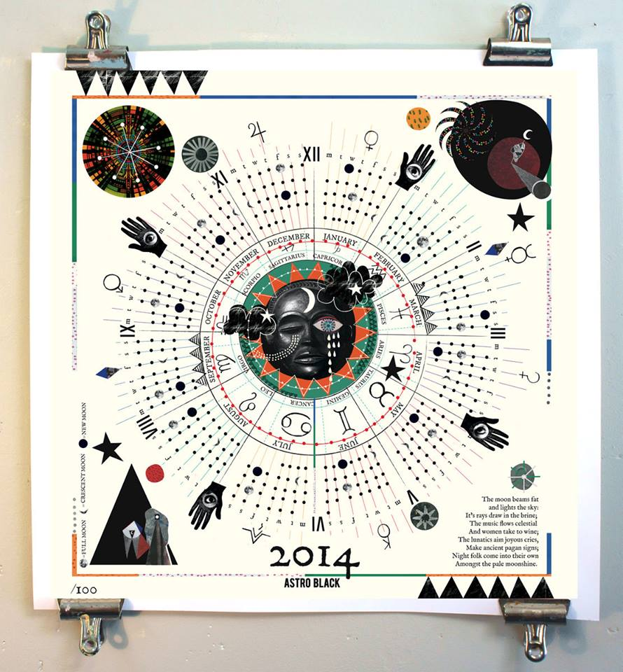 Astro Black Collective calendar