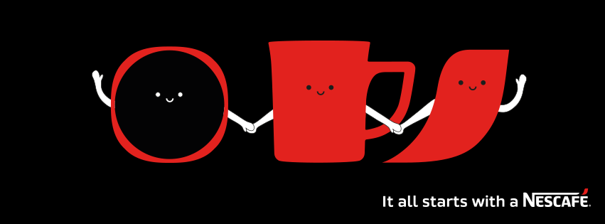 Nescafé campaign image