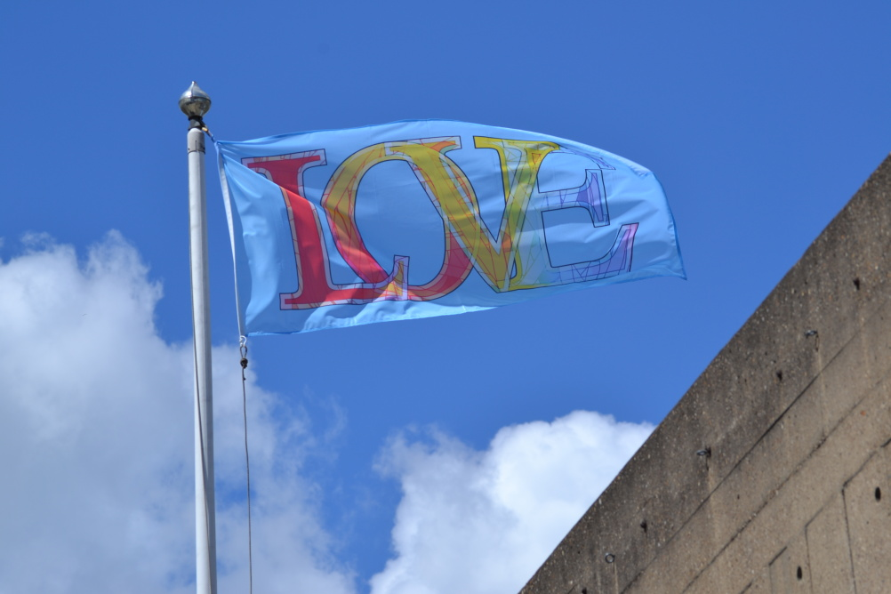 Love Flags by Mark Tichner