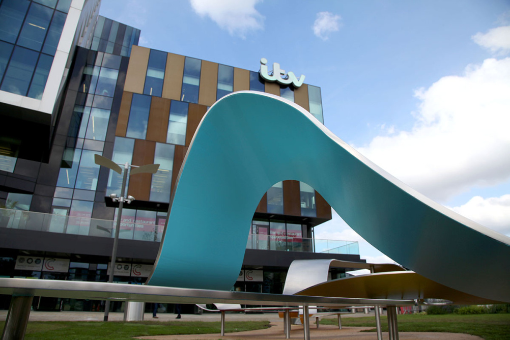 ITV sculpture by Kin
