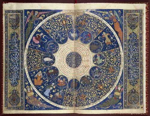 B for BIRTHDAYS: Horoscope of Iskandar-Sultan ibn Umar-Shaykh, 1411