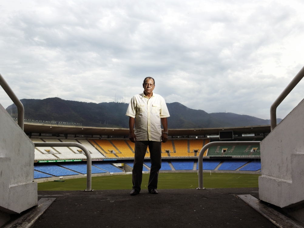 Carlos Alberto (Brazil, 1970, 86'). Photographed at the Maracana Stadium, Rio de Janeiro