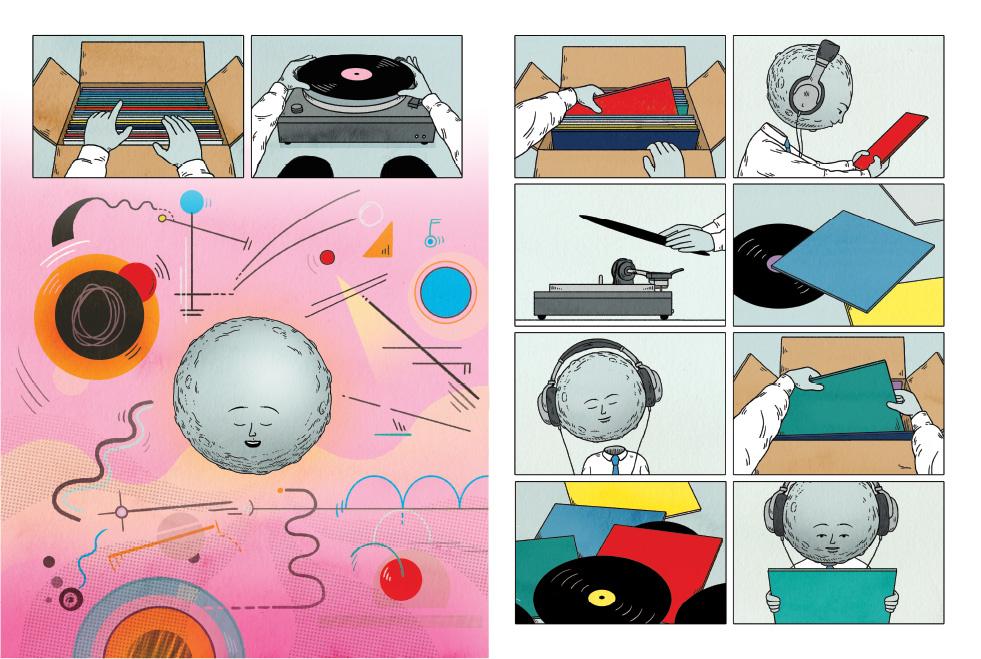 Kandinsky-inspired reveries