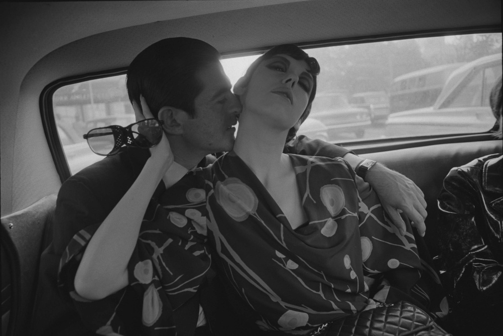 Dennis Hopper Irving Blum and Peggy Moffitt, 1964 Photograph, 16.69 x 24.92 cm The Hopper Art Trust