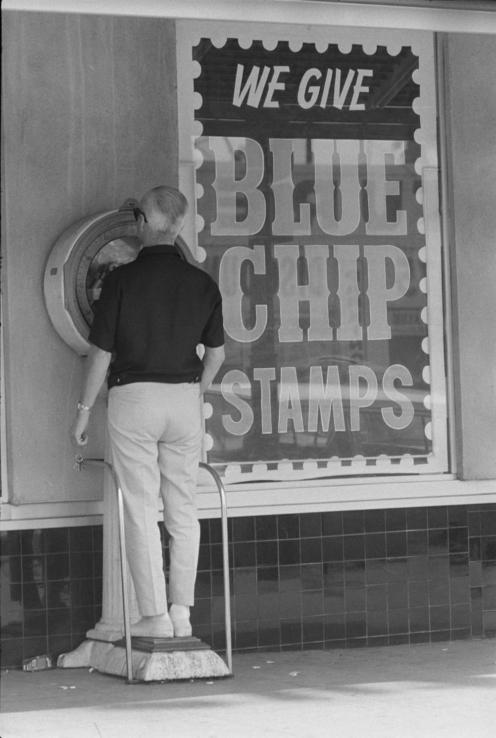 Dennis Hopper Untitled (Blue Chip Stamps), 1961-67 Photograph, 24.97 x 17.12 cm The Hopper Art Trust