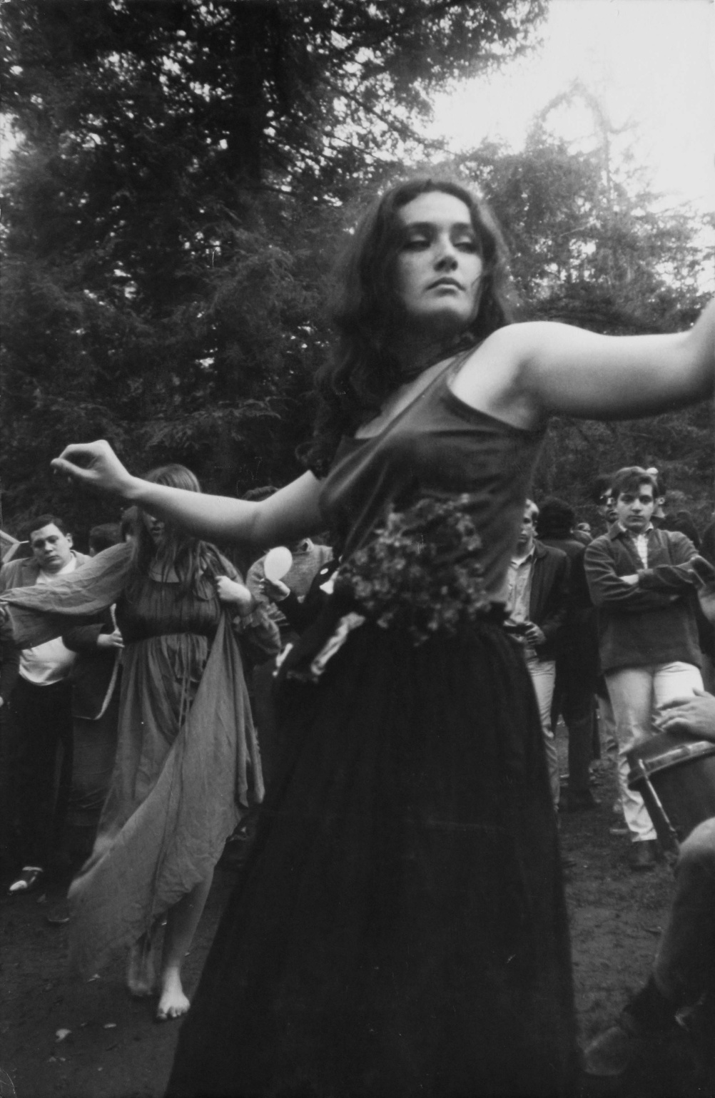 Dennis Hopper Untitled (Hippie Girl Dancing), 1967 Photograph, 34.29 x 23.37 cm The Hopper Art Trust