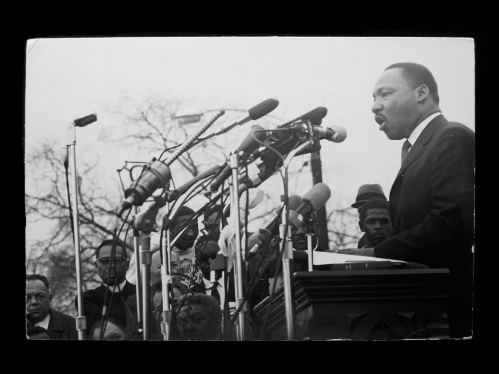 Dennis Hopper Martin Luther King, Jr., 1965 Photograph, 23.37 x 34.29 cm The Hopper Art Trust