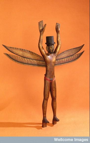 Nicobar Island Figure, 1880 - 1925