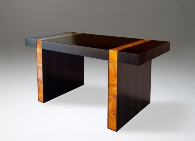 Rock Crystal Desk by Mattia Bonetti.