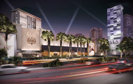 Render for SLS Las Vegas Hotel Casino, which will be part of the Curio Collection